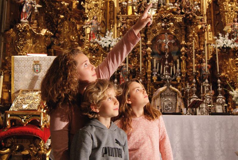 Gabinete Didáctico | Visita Niños | Centesimus Annus